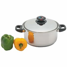 Precise Heat 5.5 Quart Stock Pot with Lid