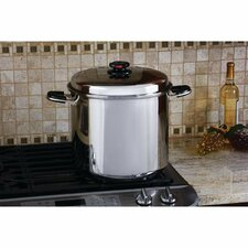 Precise Heat 24 Quart Stock Pot with Lid