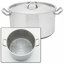 Precise Heat 42 Quart Stock Pot with Lid