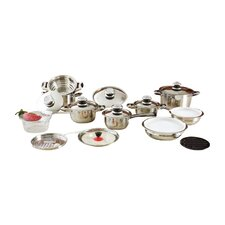 28 Piece Stainless Steel Cookware Set