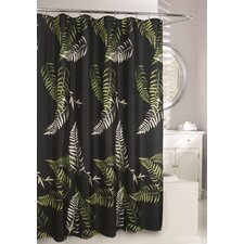 Fern Frond Fabric Shower Curtain