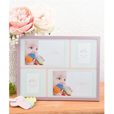 Baby Girl Collage Aluminium Picture Frame
