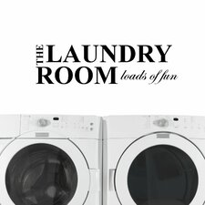 The Laundry Room, Loads of Fun Wall Decal