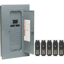 200 Amp Manual Transfer Switch with Remodel Value Load Center