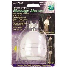 Economy Massaging Shower Head
