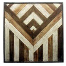 Invert Wooden Wall Décor