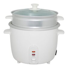 Electric Rice Cooker with Steamer Cup