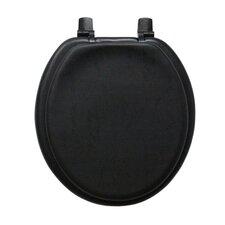Plain Soft Round Toilet Seat