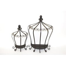 2 Piece Crown Wall Decor Set