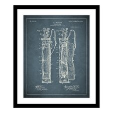 1905 Golf Bag Patent Framed Photographic Print