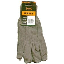 Jersey Gloves in Brown