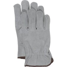 Large Unlined Split Leather Gloves
