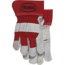 Large Split Leather Palm Gloves