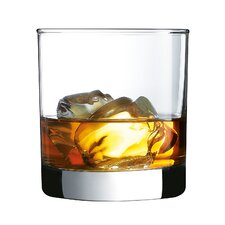 Barcraft 10.5 Oz. Straight Sided On the Rocks Glass (Set of 4)