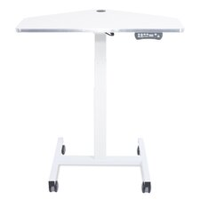Sit-to-Stand Adjustable Laptop Cart