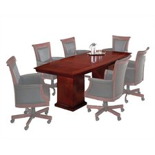 Del Mar 8' Boat Shaped Conference Table