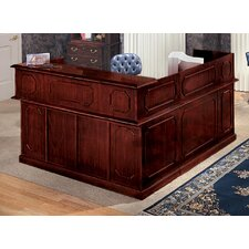 Governor's L-Shape Reception Desk with Right Return