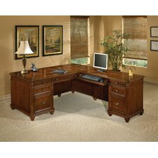 Antigua L-Shape Executive Desk with Right Return