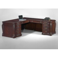 Balmoor L-Shape Executive Desk with Right Return