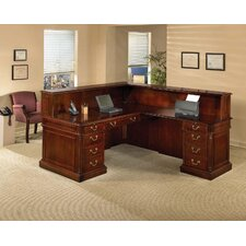 Keswick L-Shape Reception Desk