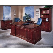 Keswick 4-PIece U-Shape Executive Desk Office Suite
