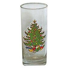 Original Christmas Tree 15 Oz. Ice Tea Glass (Set of 4)