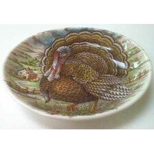 Turkey Oval Vegetable Bowl