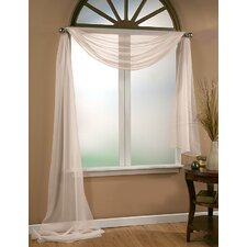 Infinity Sheer Window Scarf Polyester Curtain Valance