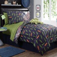 Alligator 4 Piece Full Comforter Set