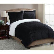 Micro Mink Sherpa Comforter Set