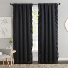 Amber Blackout Curtain Panel