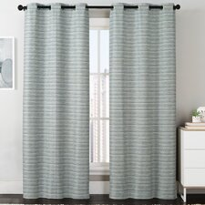 Manor Grommet Curtain Panel (Set of 2)