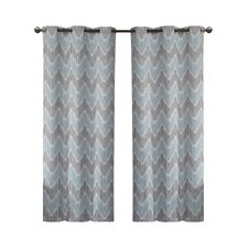 Marlie Print Curtain Panel (Set of 2)