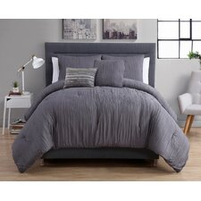 Crinkle Comforter Set