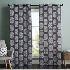 Gray Amp Silver Curtains And Drapes Wayfair
