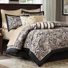 Aubrey 12 Piece Reversible Comforter Set