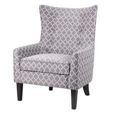 Madison Park Carissa Shelter Wing Slipper Chair
