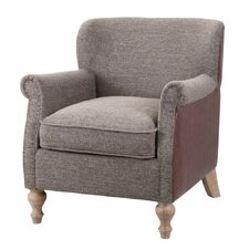 Madison Park Luther Turned Leg Club Chair