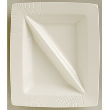 """Solace Divided 13"""" Rectangular Serving Dish"""
