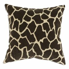 Giraffe Bitter Throw Pillow
