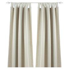 Linen Rod Pocket Curtain Single Panel
