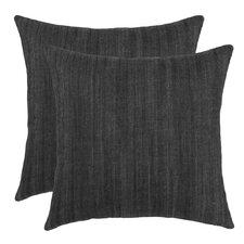 Denim Throw Pillow (Set of 2)