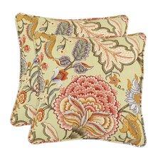 Meadowlark Clay Throw Pillow (Set of 2)