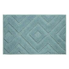 Lilah Plush Micropolyester Textured Bath Mat