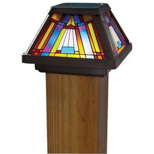 Inglenook 6x Stain Glass Post