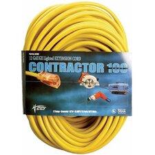 Coleman Cable - Vinyl Extension Cords 50' 10/3 Sjtw-A Yellow Extension Cord W/Clear Pl: 172-02688 - 50' 10/3 sjtw-a yellow extension cord w/clear pl