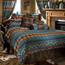 Turquoise Chamarro Comforter Collection