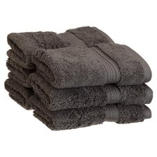 Egyptian Cotton Wash Cloth (Set of 6)