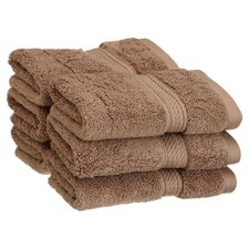 Egyptian Cotton Wash Cloth (Set of 6)