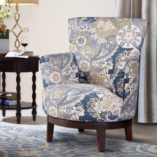 Zoey Swivel Arm Chair